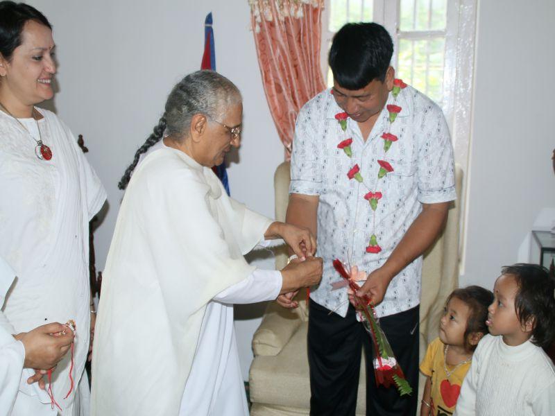 Hon'ble Vice-President of Nepal Mr. Nanda Kishor Pun